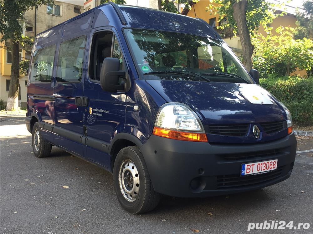 Renault Master 9 locuri 120 CP 2008