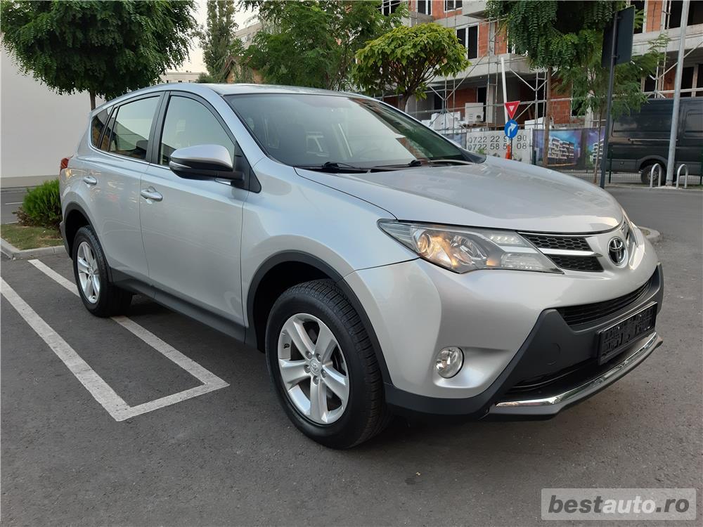 Toyota Rav4 2.0 Business- Diesel - Manual - 143.620 km - EURO 5, Pchet 4d - Full Option