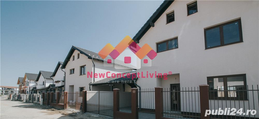 Casa nou - individuala - 120 mp - pod mansardabil -toate utilitatiile trase - Selimbar