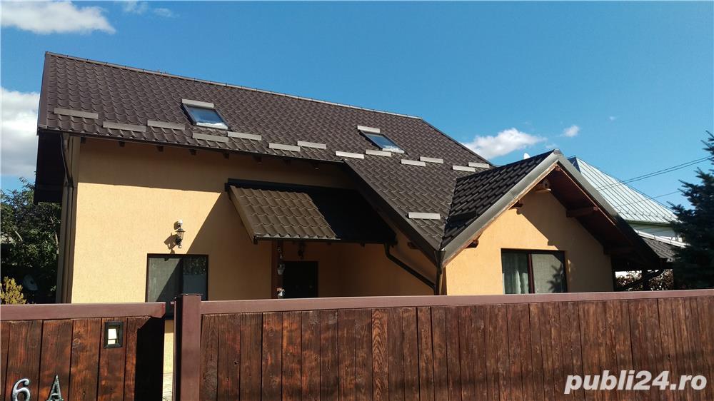 Breaza-Prahova vand vila (casa de vacanta) complet mobilata si utilata