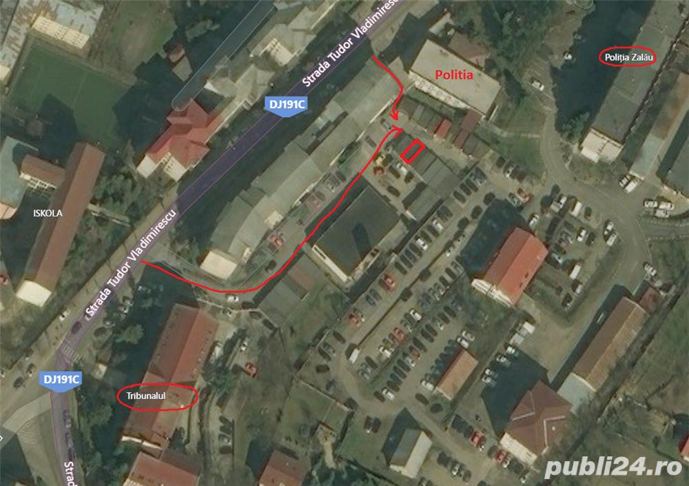 Garaj T. Vladimirescu langa politie si tribunal