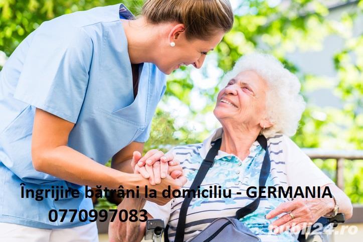 Angajăm personal pentru îngrijire bătrâni la domiciliu în Germania!