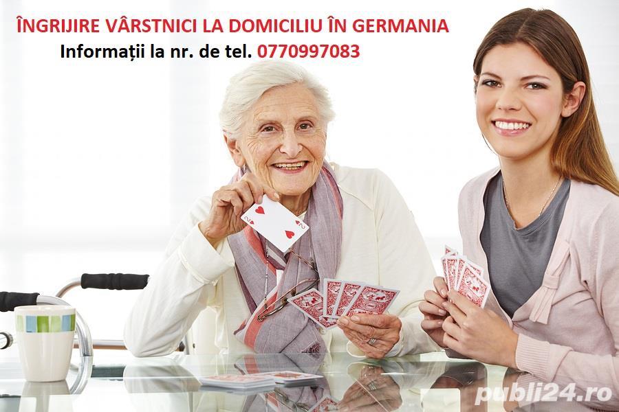 Locuri de muncă - GERMANIA - ÎNGRIJIRE BĂTRÂNI