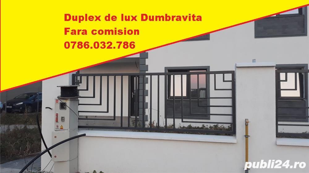 CITY RESIDENT - 1/2 duplex lux Dumbravita, totul nou, pret de proprietar/ dezvoltator fara comision