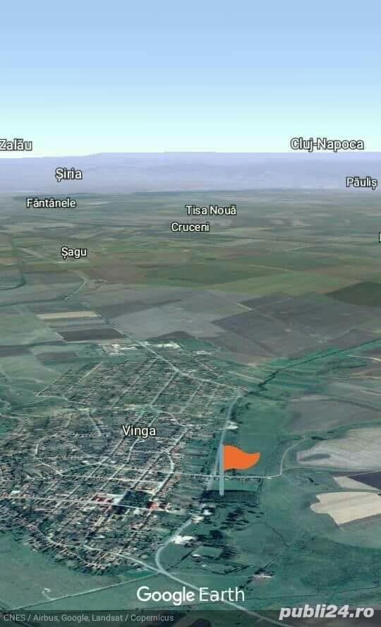 Teren de Vanzare Intravilan 5188 m//p Com Vinga Jud Arad