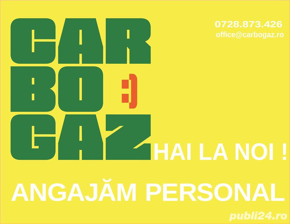 Carbogaz Tunari își mareste echipa!       Căutăm casier/casiera