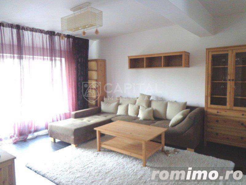 Inchiriere apartament 2 camere, semidecomandat +parcare, zona Campului, Manastur