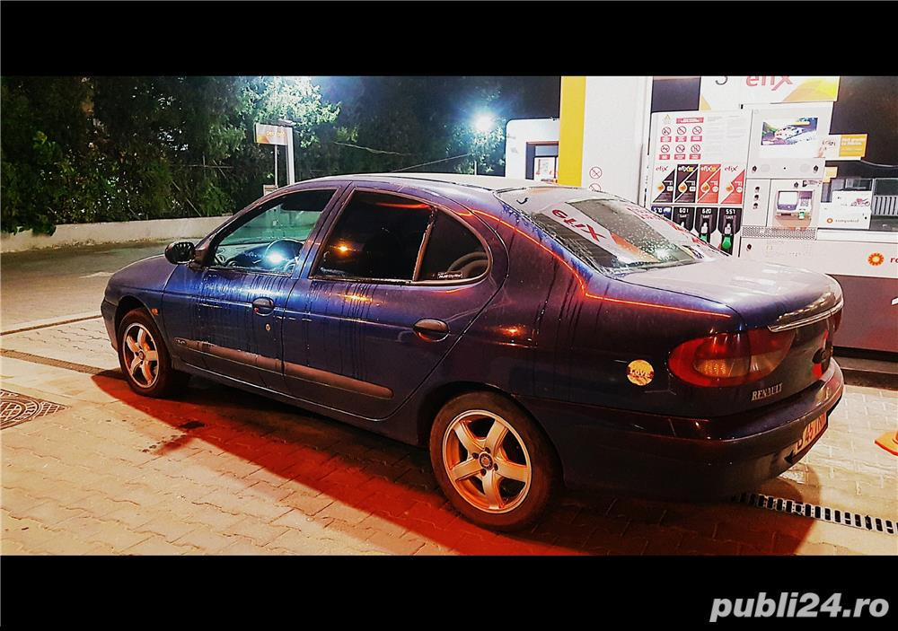 Renault Megane 1.9 dTI diesel, consum mic, focal, Alpine, subwoofer