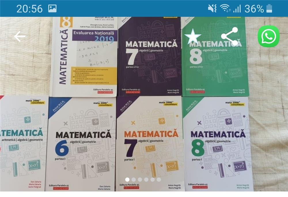 Romanian language and Maths