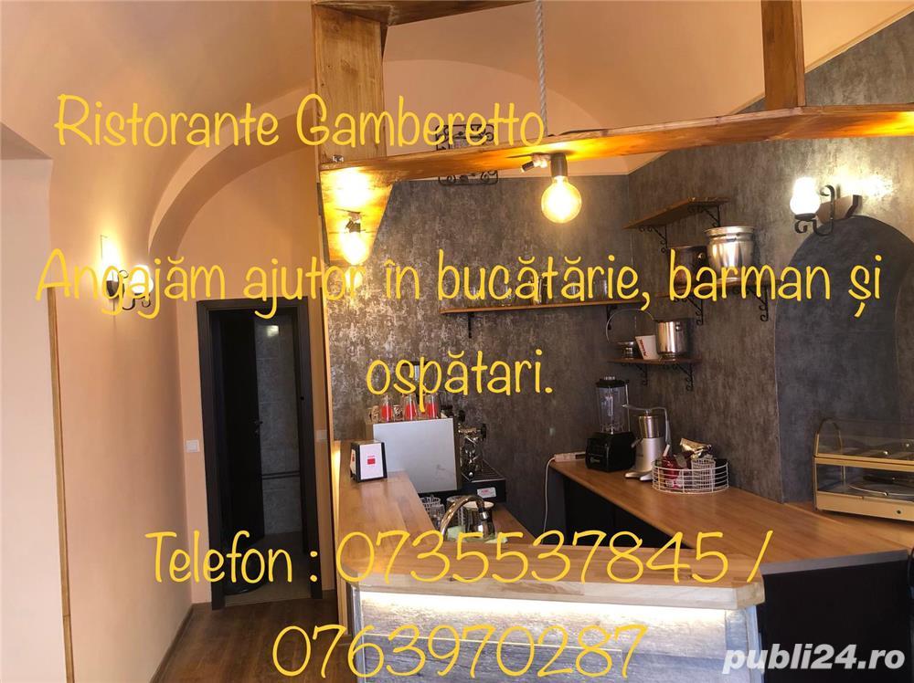 Ristorante Gamberetto - Angajează