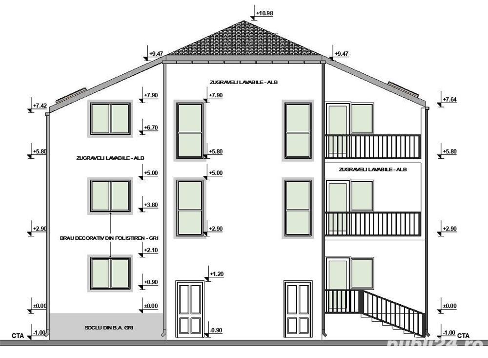 Dezvoltator apart 2 cam cu gradina intabulat 54mp+50mp Cl.Cisnadiei