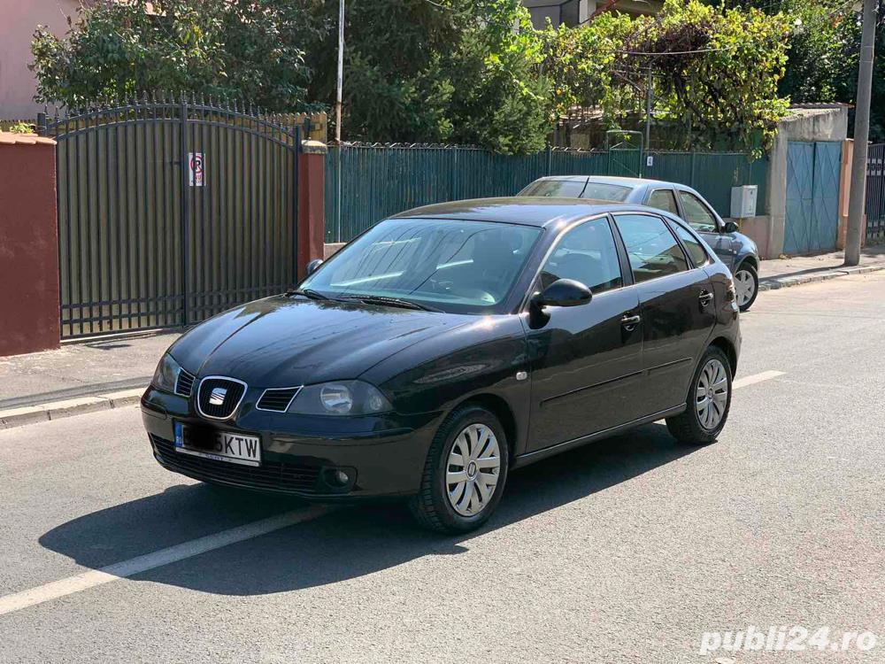 Seat Ibiza 1.4 16V 90cp stare impecabila 2006 E4 km reali 151000
