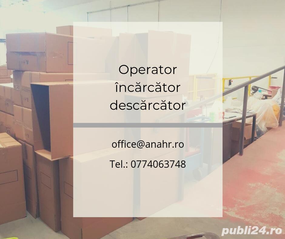 Operator încărcare-descărcare