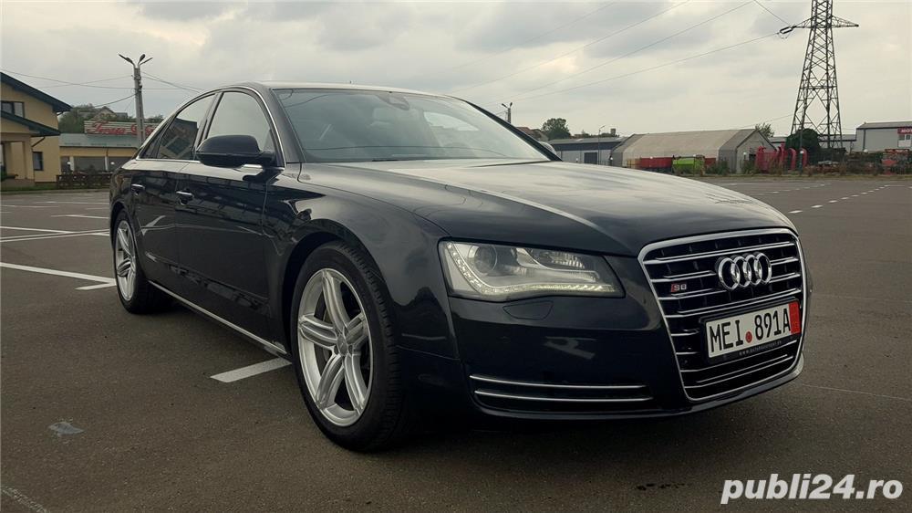 Audi A8 3.0TDI-258 CP 2011 RAR efectuat Xenon Full Led Navi Piele Zoll