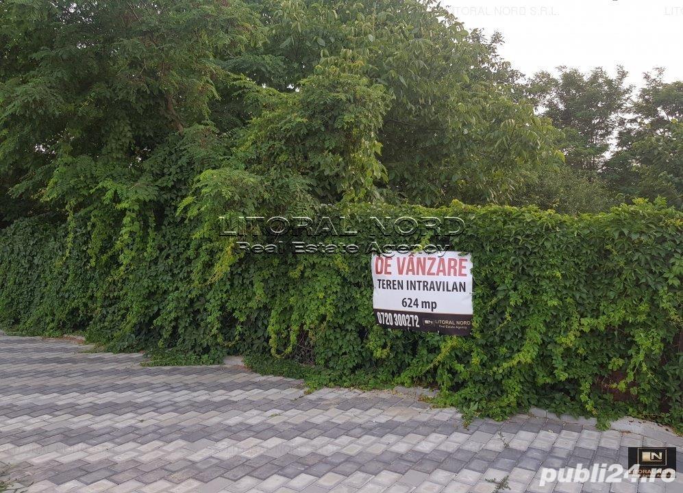 Costinesti - Schitu, str. Schitului, teren intravilan 624mp, intre case - vile