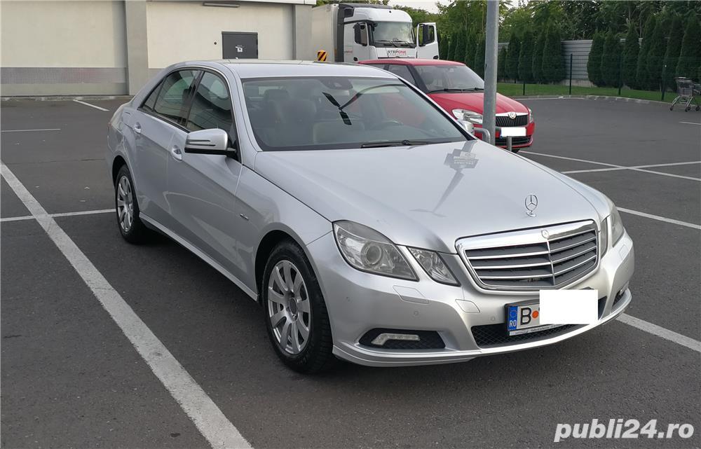 Mercedes E220 CDI, Blue Efficiency intretinut la reprezentanta, full option,  9.400 EUR