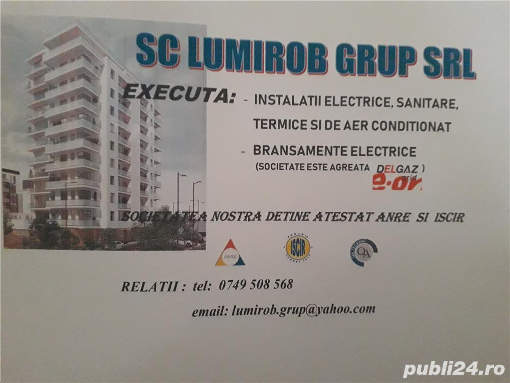 Angajăm instalatori și electricieni