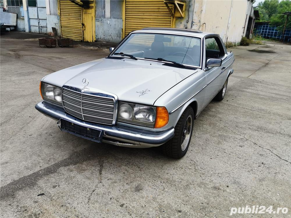 Mercedes-benz 230 CE W123 Coupe