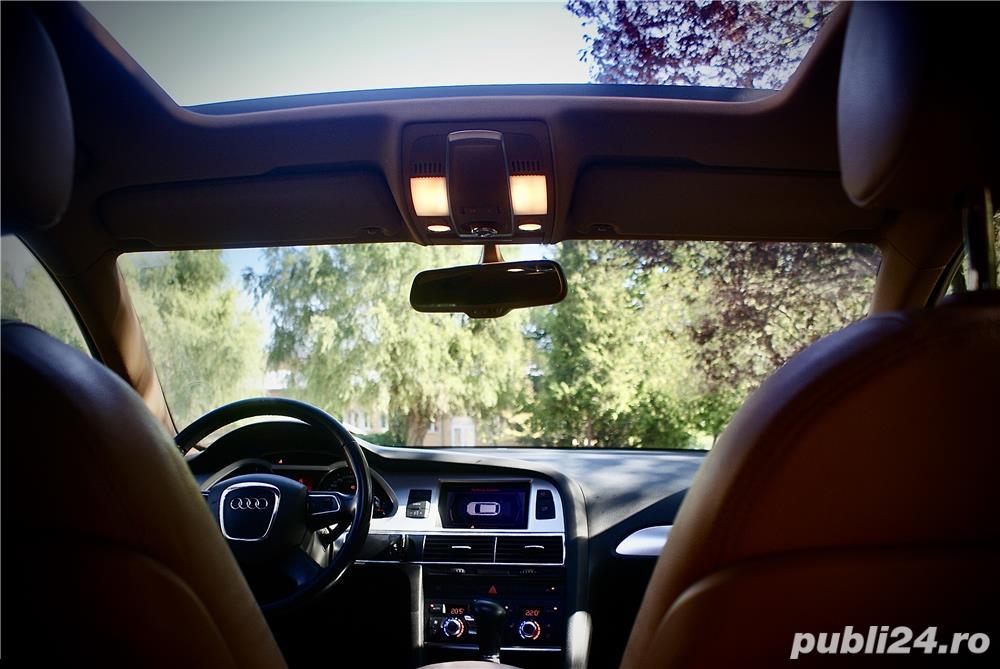 Audi A6 2.0 TDI Automat MMI Piele Trapa Full istoric - TVA deductibil