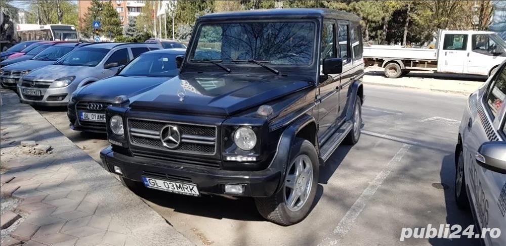 Mercedes G Luxury Wagon