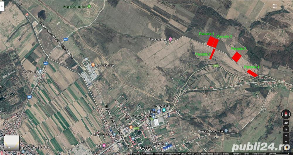 Teren extravilan în Lugoj » strada Timișorii, Dealul Viilor, Bocșei