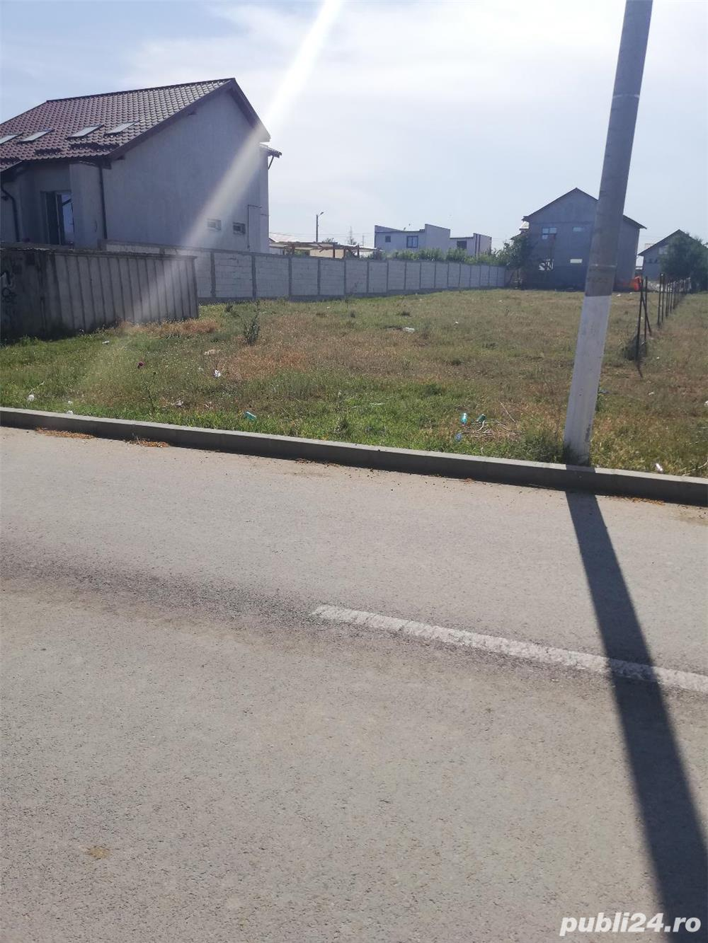 VAND 1000 MP TEREN INTRAVILAN, ZONA VILE (  16 KM DE CONSTANTA ), 69 EURO MP NEGOCIABIL