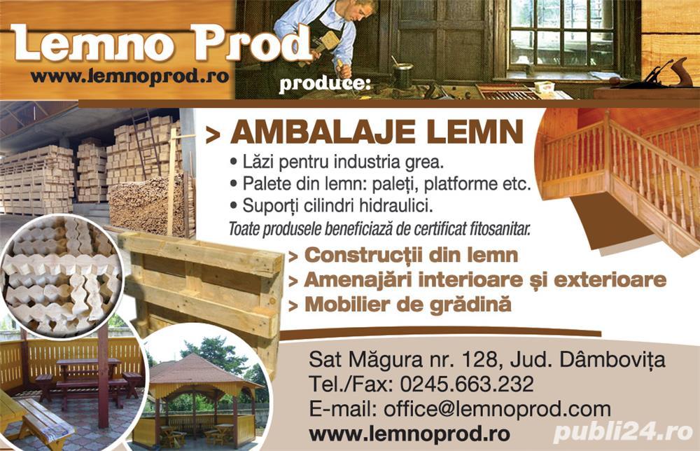Angajam - productie ambalaje lemn