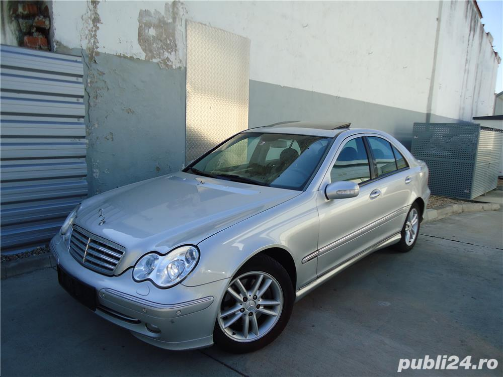 RARITATE!!! Mercedes-Benz C320i V6 220cp Pack AMG *** FULL EXTRASE ***