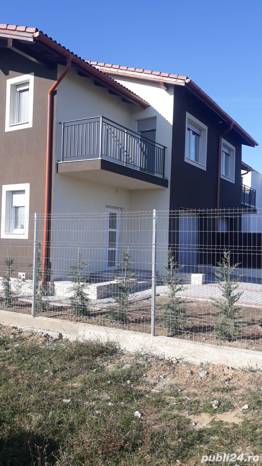 Casa noua tip Duplex  cu garaj la doi pasi de Timisoara in loc Chisoda