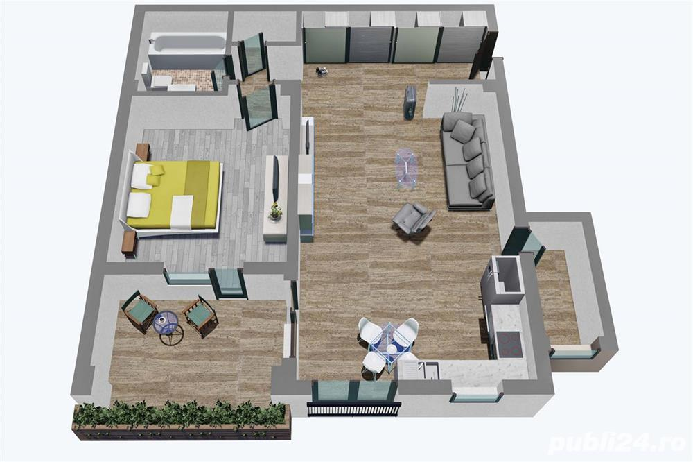 Apartament 2 camere, Tip 1, etajul 1 3, Balanta Residence Sibiu