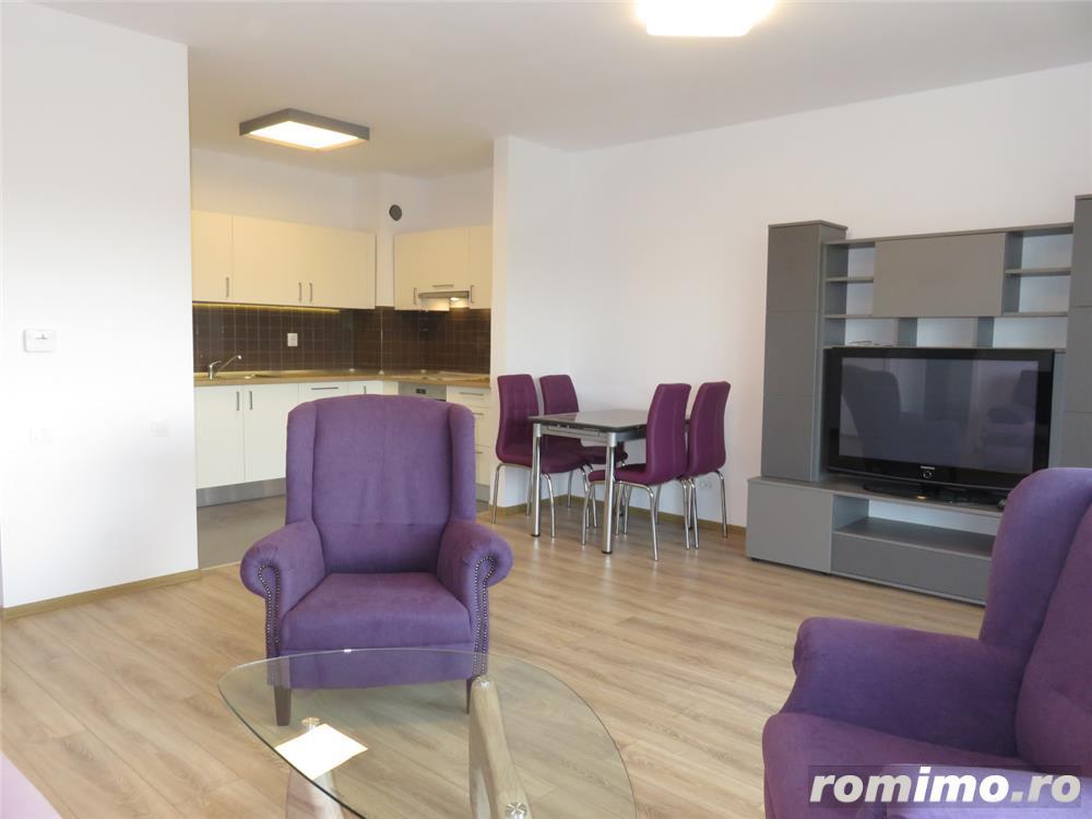 Apartament 2 camere nou mobilat si utilat, 64mp+balcon 10mp, garaj subteran