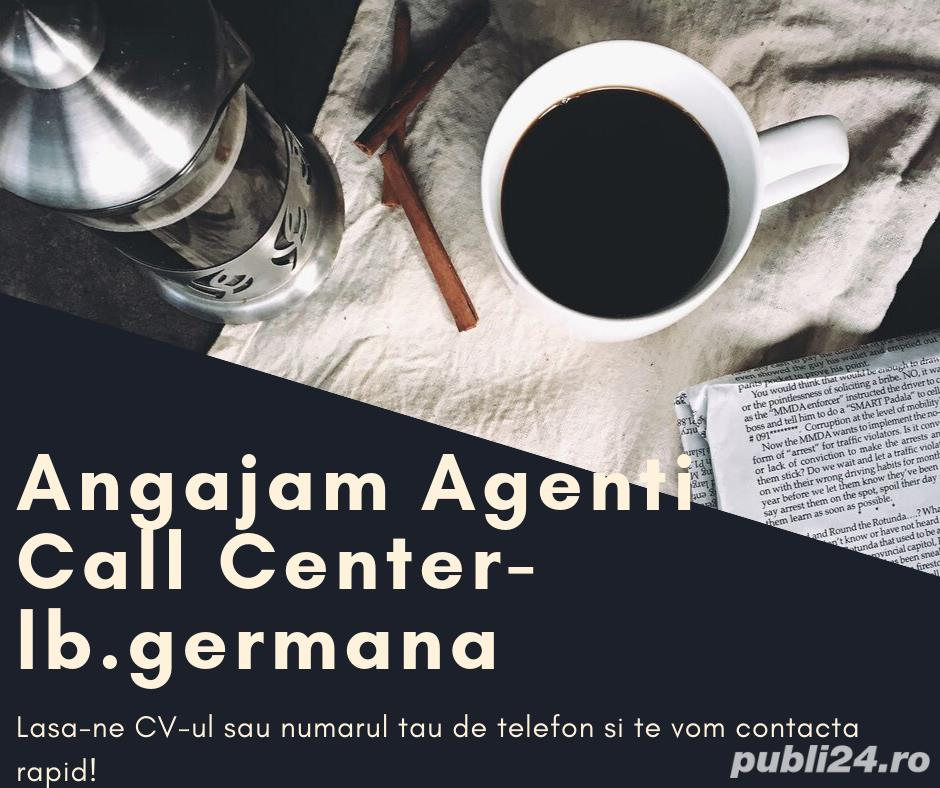 Angajam agenti call center-lb germana