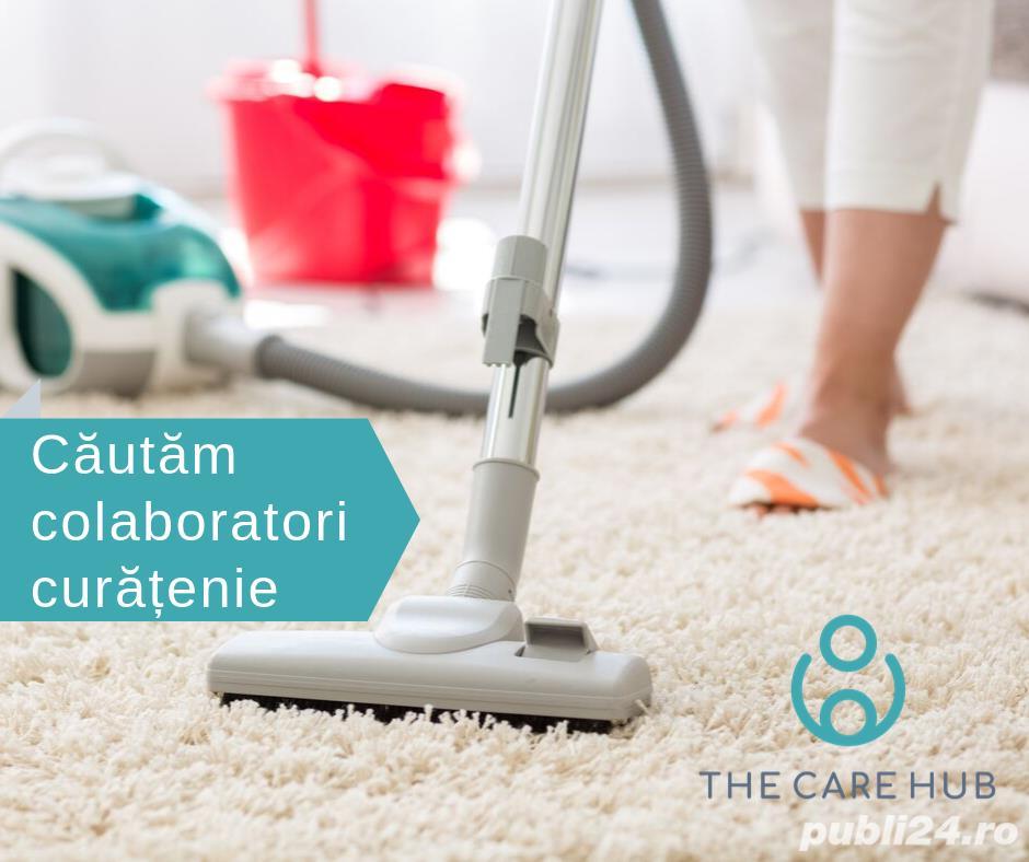 Căutăm colaboratori - servicii de curățenie și alte servicii de menaj