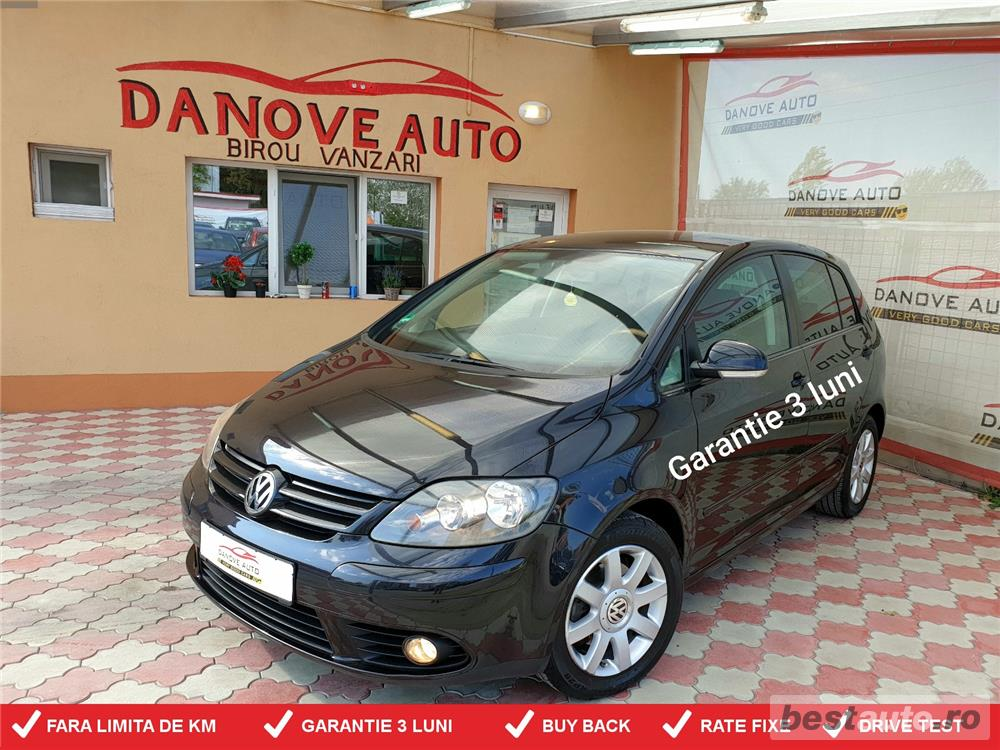 Golf 5 Plus,GARANTIE 3 LUNI,BUY-BACK,RATE FIXE,motor 1600 cmc,116 CP,Climatronic.
