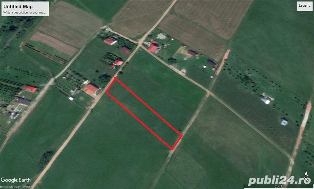 Vand teren agricol intravilan in Cisnadie in suprafata de 1688 mp. pe Sos. Selimbarului