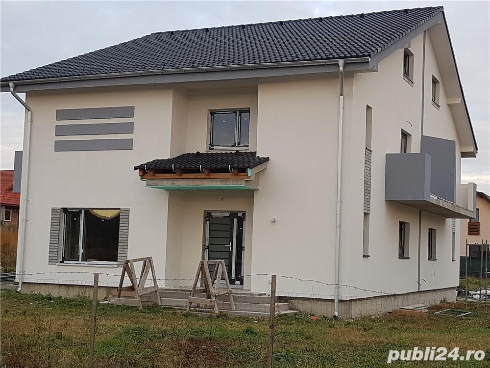 Vand casa noua / proprietate privata / parcela teren 530m2