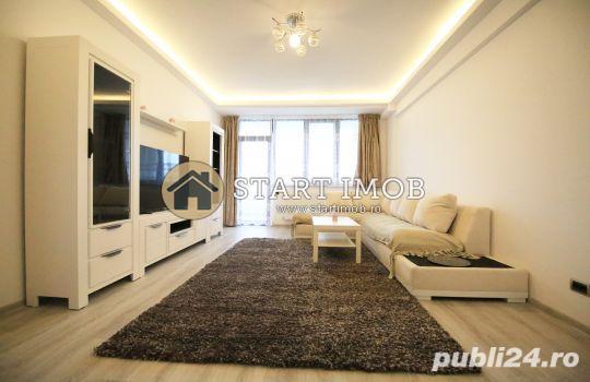 STARTIMOB - Inchiriez apartament mobilat Isaran 3 camere cu parcare subterana