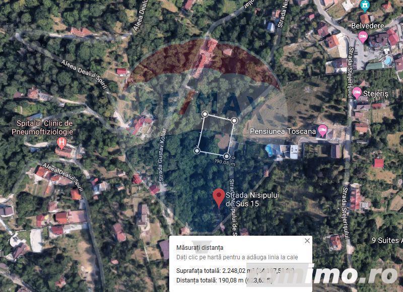 Teren intravilan, 2250 mp, str Nisipului de Sus