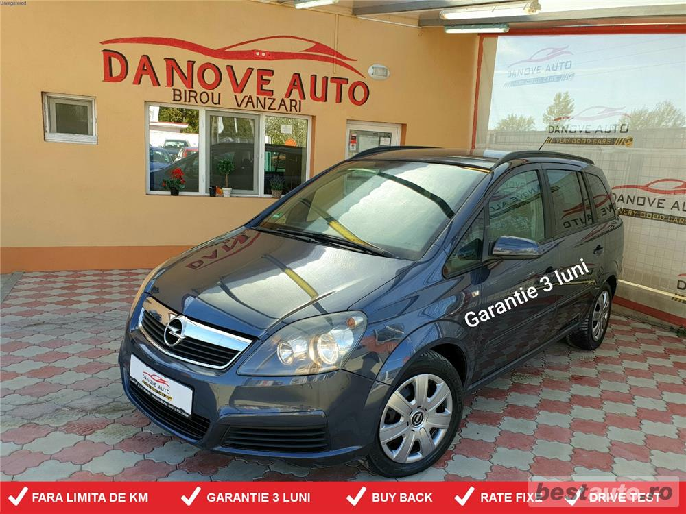 Opel Zafira,GARANTIE 3 LUNI,BUY BACK,RATE FIXE,motor 1900 Tdi,120 CP,Climatronic,Navi