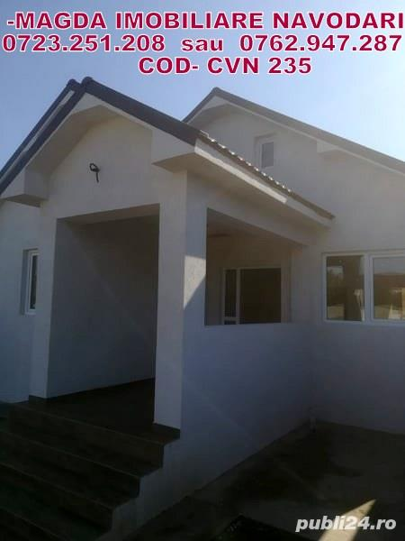 Navodari-Cartierul Nou VILE SUD-Casa la sol 90mp calitate superioara 75000 Euro