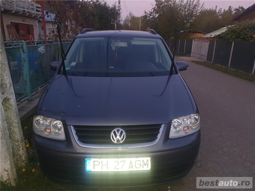 Vw touran import Germania,unic proprietar,stare perfecta de functionare !!!
