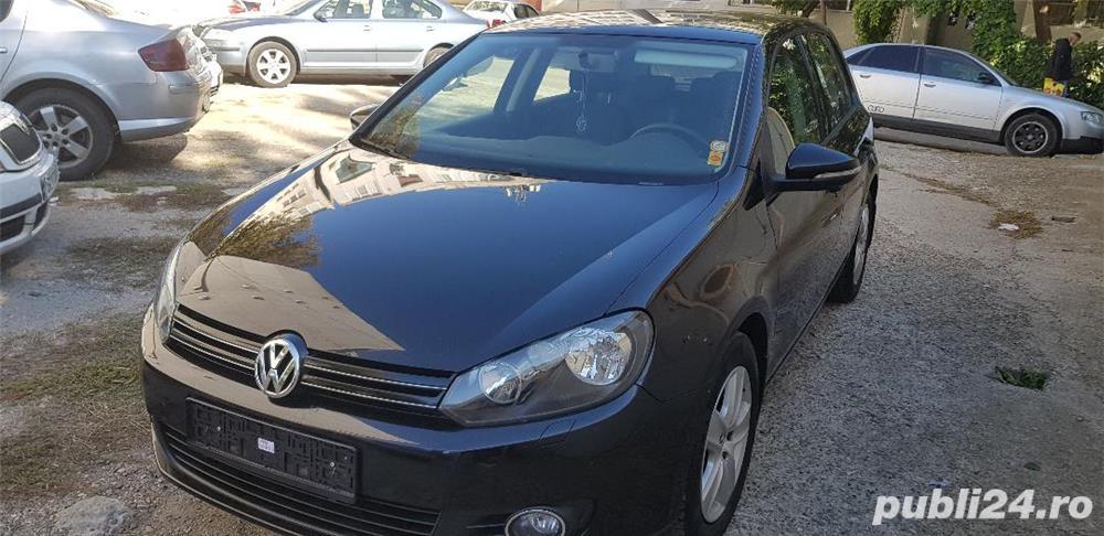 Volkswagen Golf 6, 2009, euro 5, 1,4 TSI, 120 CP, climatronic, recent adusa