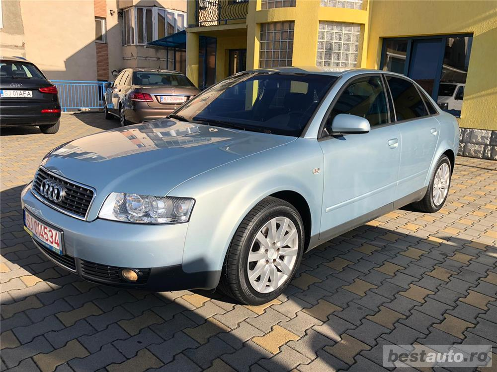 Audi A4 rar efectuat