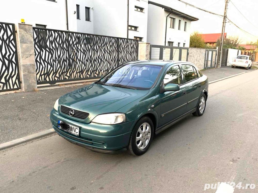 Opel Astra G 1.6 8V 90cp model selection // 05.2001 E4 Full option