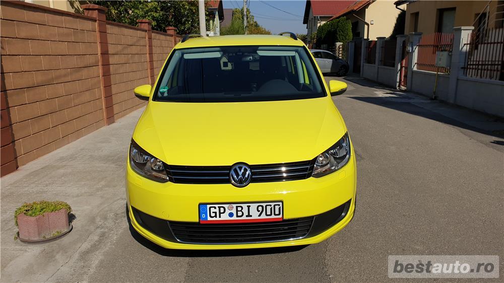 VW TOURAN 2.0 TDI 140 CP EURO 5 An 2014 adus recent Germania
