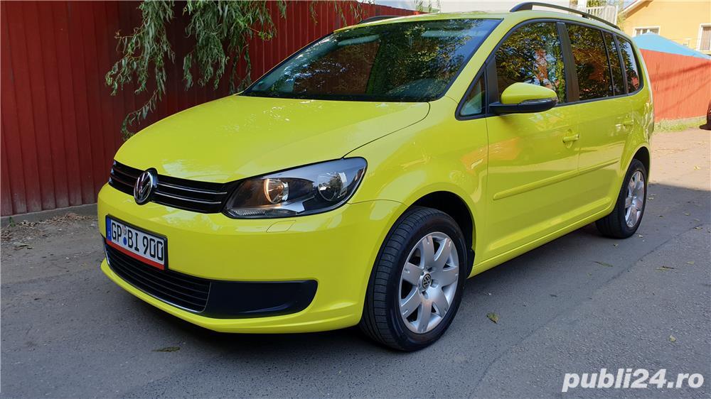 VW TOURAN 2.0 TDI 140 CP EURO 5 An 2014 adus recent Germania.