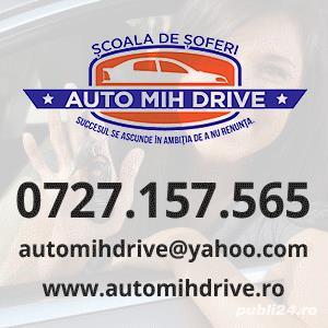 Auto Mih Drive anajeaza instructori auto categoria B
