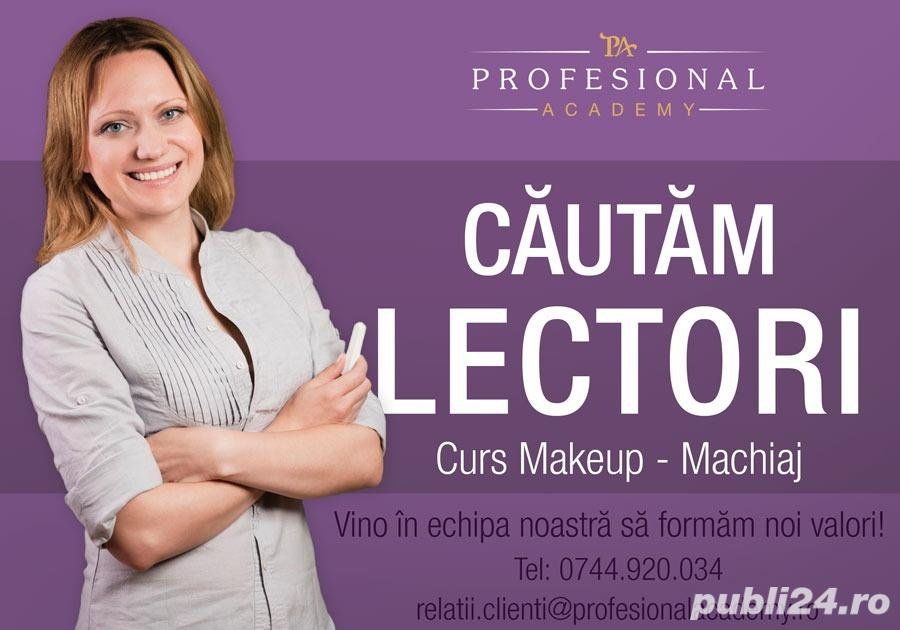 Cautam lector curs make-up-Brasov