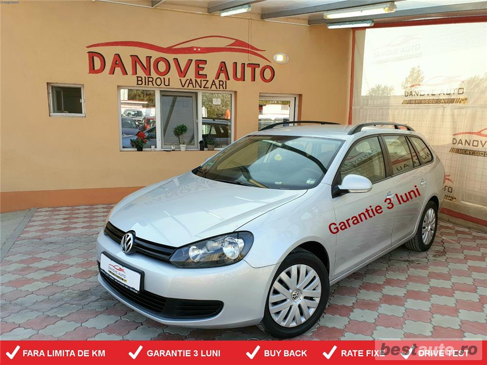 Vw Golf 6,GARANTIE 3 LUNI,BUY BACK,RATE FIXE,motor 1600 Tdi,105 Cp,Euro 5.