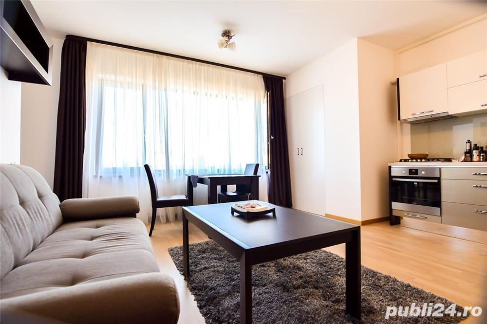 PROPRIETAR - VANZARE Apartament 2 camere Decomandat, Lux, Baneasa, Herastrau, Residence 5